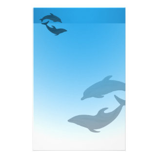 Ocean Blue Dolphins Stationary Stationery