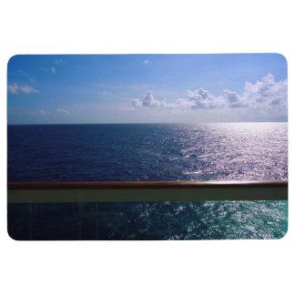 Ocean Blue Floor Mat