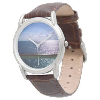 Ocean Blue Mens Wristwatches