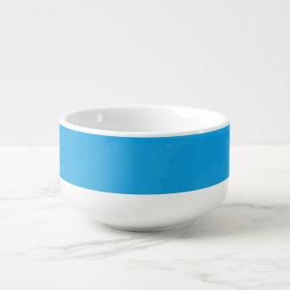 Ocean Blue Ombre Soup Bowl