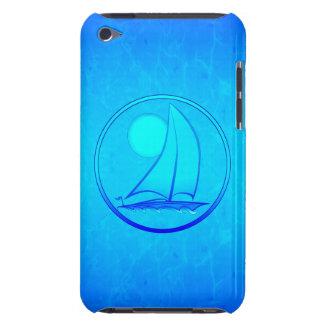 Ocean Blue Sailboat Case-Mate iPod Touch Case