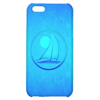 Ocean Blue Sailboat iPhone 5C Case