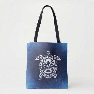 Ocean Blue Sea Turtle Tote Bag