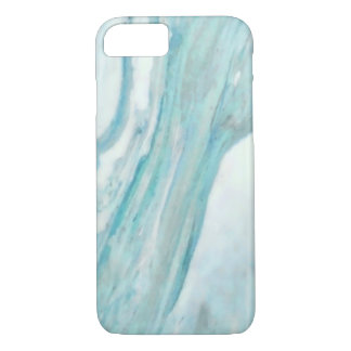 Ocean Blue Surf Abstract Marble Pattern iPhone 8/7 Case