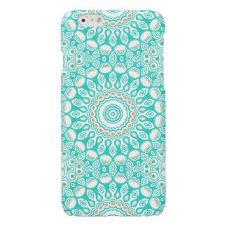 Ocean Blue Turquoise Medallion iPhone 6 Plus Case