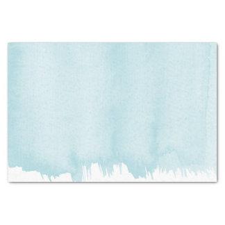 Ocean Blue Watercolor Tissue Paper