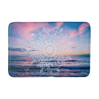 Ocean Boho Mandala | Bath Mat Bath Mats