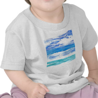 Ocean Calypso - turquoise beach surf painting Shirt