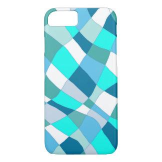 Ocean Check Pillow iPhone 7 Case