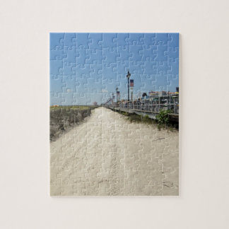 Ocean city Boardwalk Jigsaw Puzzle