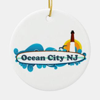 Ocean City Christmas Ornament