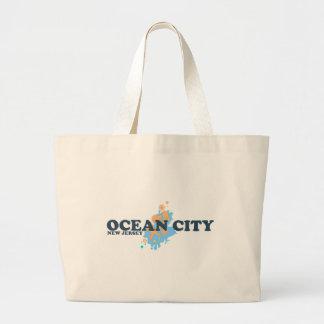Ocean City. Jumbo Tote Bag
