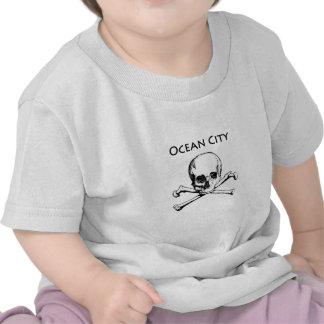 Ocean City Maryland (Jolly Roger) Tshirts