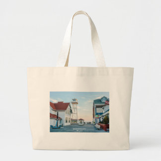 Ocean City Maryland. Large Tote Bag