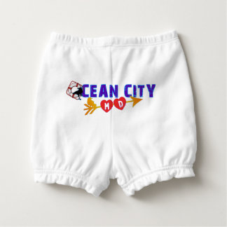 Ocean City, Maryland's Beach Vacation Spot Nappy Cover