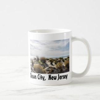Ocean City, New Jersey Basic White Mug