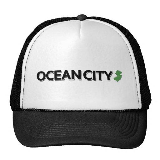 Ocean City, New Jersey Mesh Hats