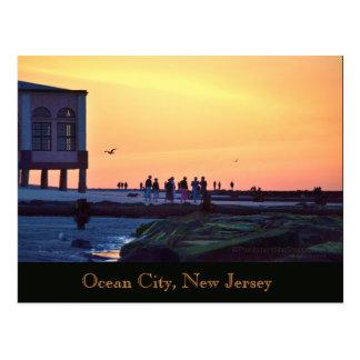 Ocean City, New Jersey Music Pier Postcard