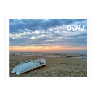 Ocean City, New Jersey Post Card-Beach Boat Postcard