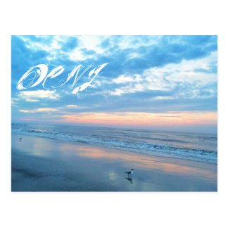 Ocean City New Jersey Post Card-Sunrise Reflection Postcard