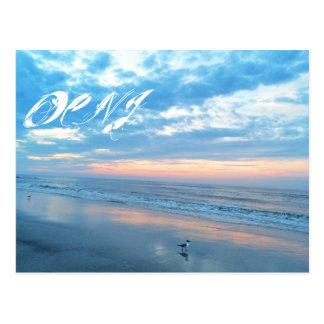 Ocean City New Jersey Post Card-Sunrise Reflection Postcard
