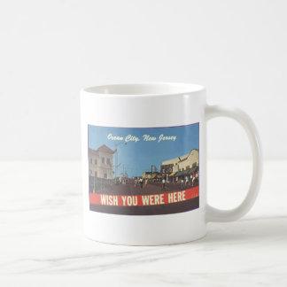 Ocean City, New Jersey, Vintage Mug