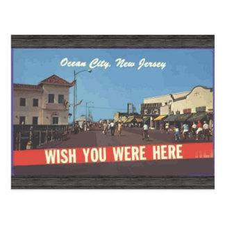 Ocean City, New Jersey, Vintage Postcards