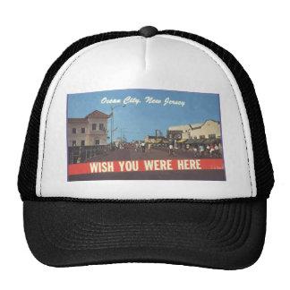 Ocean City New Jersey Vintage Trucker Hat