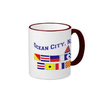 Ocean City, NJ Ringer Mug