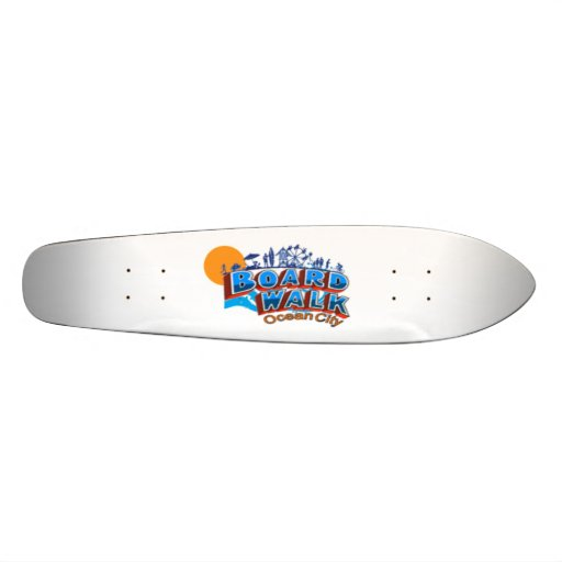 Ocean City. Skate Boards