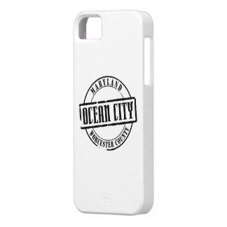 Ocean City Title iPhone 5 Cases