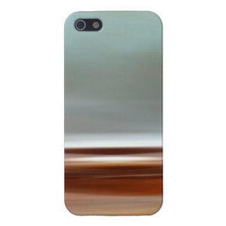 Ocean Coast Beach Sky Landscape Blue Brown Gray iPhone 5 Cover