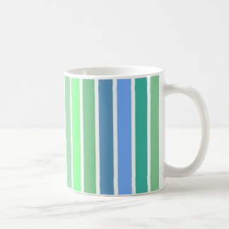 Ocean Colors Stripe Mugs