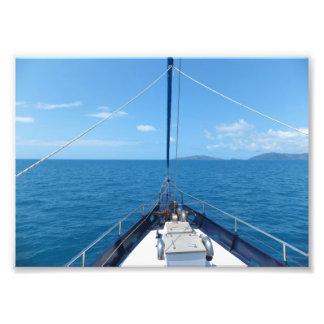 Ocean Cruise Photo Art
