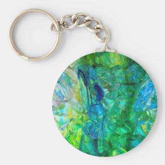 Ocean Crystals 2 Key Ring