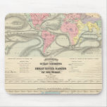 Ocean Currents and the Great River Basins Mouse Mat