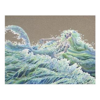 Ocean Deva Postcard