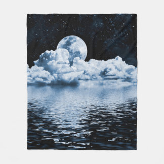 Ocean Dream Space Fleece Blanket