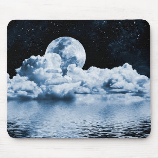 Ocean Dream Space Mouse Pad