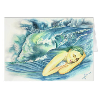 Ocean dreams card