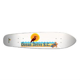 Ocean Drive Beach Skate Deck