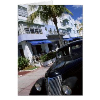 Ocean Drive, Miami Beach Florida Card