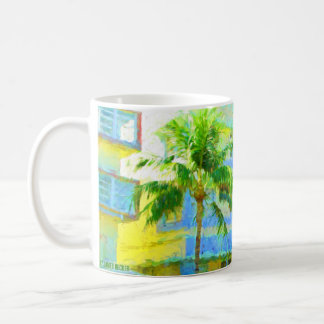Ocean Drive, Miami Beach, Florida coffee mug