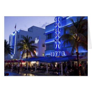Ocean Drive, South Beach, Miami Beach, 2 Card