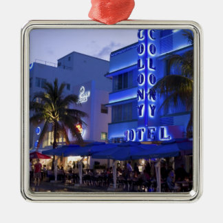 Ocean Drive, South Beach, Miami Beach, 2 Christmas Ornament