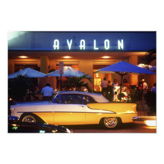 Ocean Drive, South Beach, Miami Beach, 2 Photographic Print