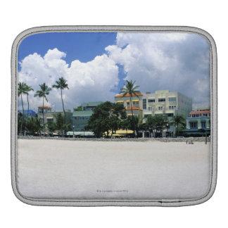 Ocean Drive, South Miam Beach, Miami - Florida iPad Sleeve