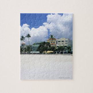 Ocean Drive, South Miam Beach, Miami - Florida Jigsaw Puzzle