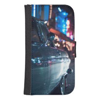 Ocean Drive vintage car Samsung S4 Wallet Case
