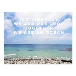 Ocean Drop Postcard